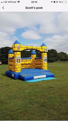 Picture of Adult bouncy castle